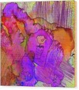 Pink Petals I Wood Print