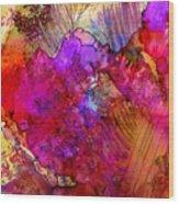 Pink Petals II Wood Print