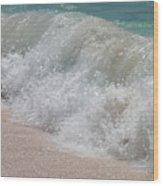 Pink Sand Beaches Wood Print