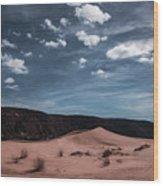 Pink Sand Dunes Np Wood Print