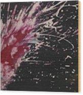 Pink Spark Wood Print