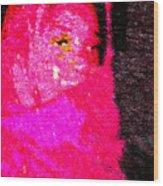 Pink Survivor Wood Print