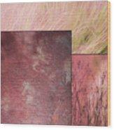Pink Textures 2 Wood Print