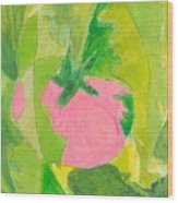 Pink Tomato Wood Print