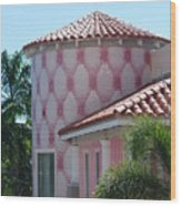 Pink Tower Wood Print