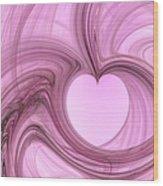 Pink Valentine Wood Print