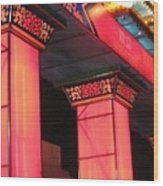 Pink Welcome Gate Wood Print