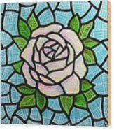 Pinkish Rose Wood Print