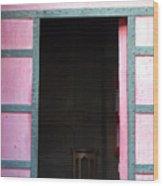 Pinktree Wood Print
