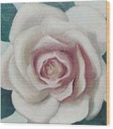 Pinky Flower Wood Print