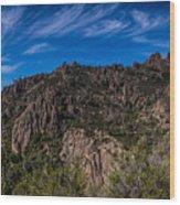 Pinnacles View Wood Print