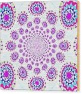 Pinwheel Pop Wood Print