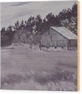 Pioneer Barn Wood Print