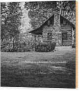 Pioneer Days  Wood Print