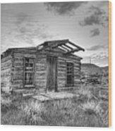 Pioneer Home - Nevada City Ghost Town Wood Print