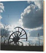 Pioneer Wood Print