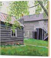 Pioneer Village I Wood Print