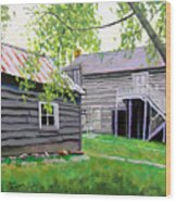 Pioneer Village One Wood Print