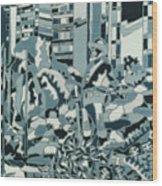 Pioner Square Wood Print