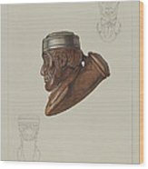 Pipe Head: Lincoln Wood Print