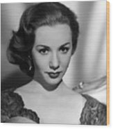Piper Laurie, 1954 Wood Print