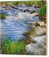 Pipestone National Monument Wood Print