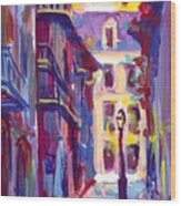 Pirates Alley New Orleans Wood Print