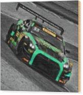 Pirelli World Challenge Jd Davison Nissan Gt R Gt3 Wood Print