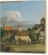 Pirna. The Obertor From The South Wood Print