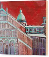 Pisa Wood Print