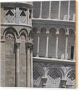 Pisa Leaning Tower 4637 Wood Print