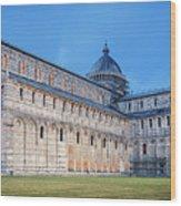 Pisa - Piazza Dei Miracoli Wood Print