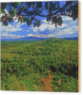 Pisgah State Park Ridge Trail View Wood Print