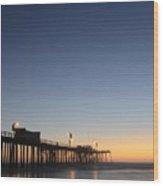 Pismo Beach Pier California 3 Wood Print