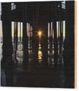 Pismo Beach Pier California 7 Wood Print
