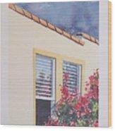 Pismo Cottage Wood Print