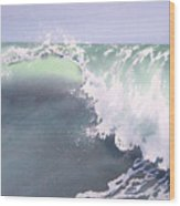 Pismo Wave Number Eight Wood Print