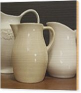 Pitcher Collection Wood Print