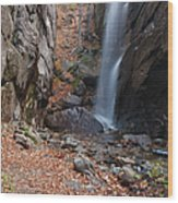 Pitcher Falls - White Mountains New Hampshire Wood Print