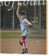 Pitcher Wood Print