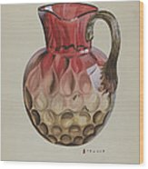 Pitcher Wood Print