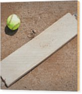 Pitchers Mound Wood Print