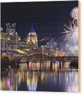 Pittsburgh 1  Wood Print by Emmanuel Panagiotakis