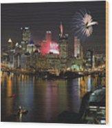 Pittsburgh 3 Wood Print