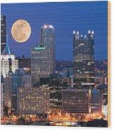 Pittsburgh 6 Wood Print