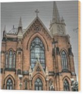 Pittsburgh Cathedral Wood Print by David Bearden