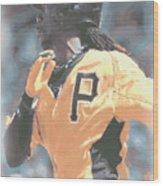 Pittsburgh Pirates Andrew Mccutchen Wood Print