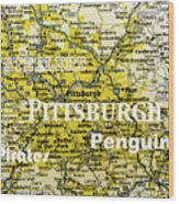 Pittsburgh Sports Wood Print
