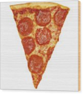 Pizza Slice Wood Print