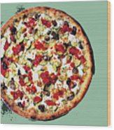 Pizza - The Guido Special Wood Print